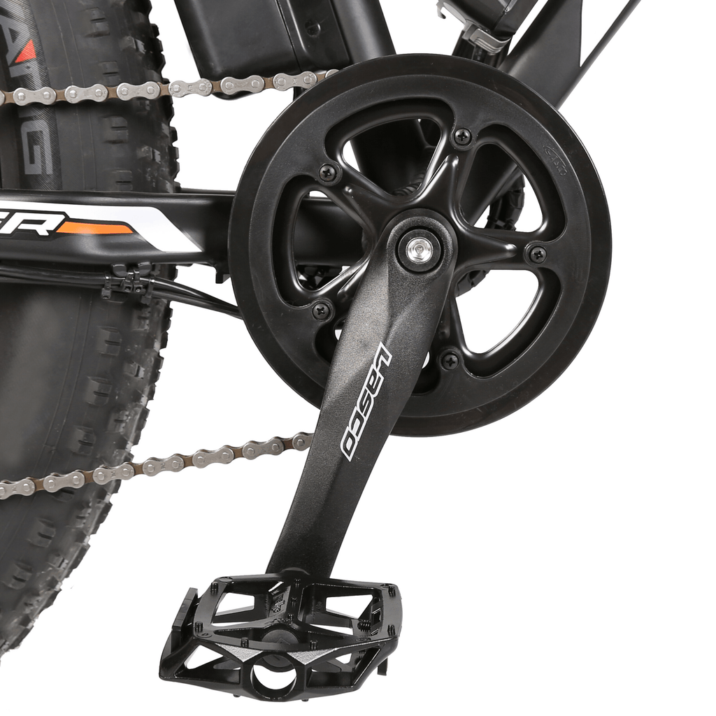 ECOTRIC Rocket Fat Tire Electric Bike pedal close up