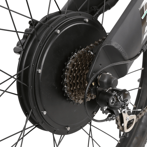 Image of ECOTRIC Seagull Electric Mountain Bike chain view
