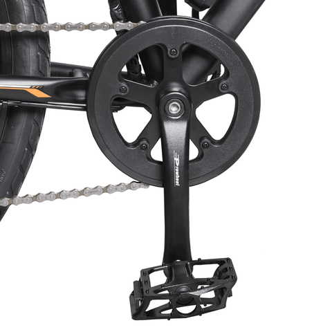 ECOTRIC Vortex Commuter Electric Bike pedal close up