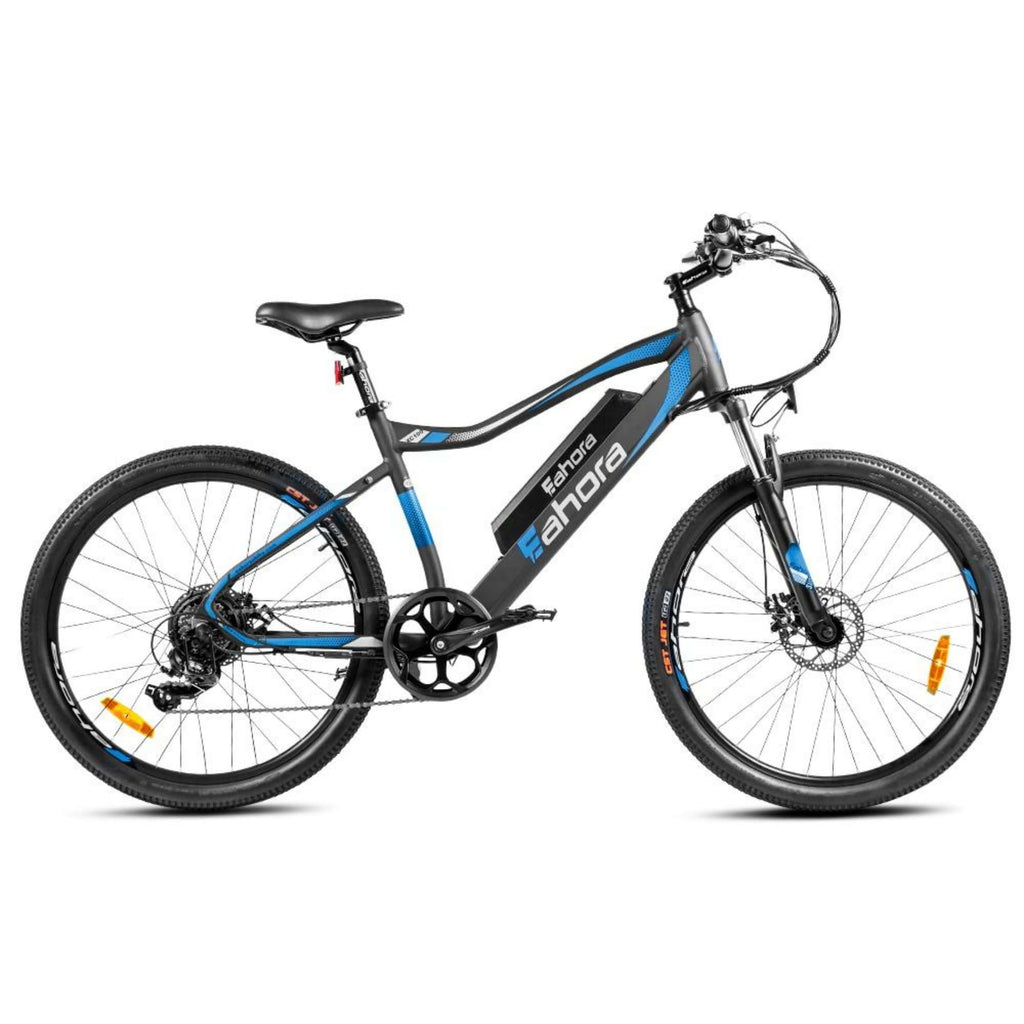 Eahora XC100 Electric Bike blue side view