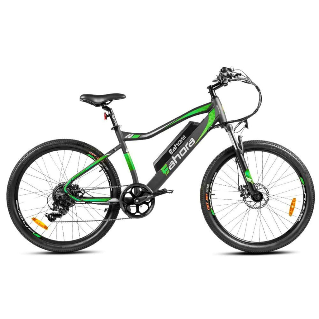 Eahora XC100 Electric Bike green side view