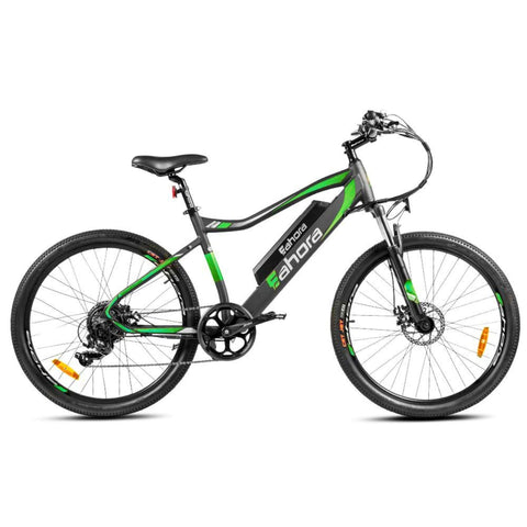 Image of Eahora XC100 Electric Bike green side view