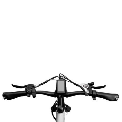 Image of Eahora XC100 Electric Bike top view of display