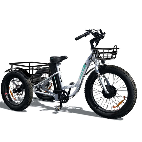 Image of Emojo Caddy Electric Bike side angle view
