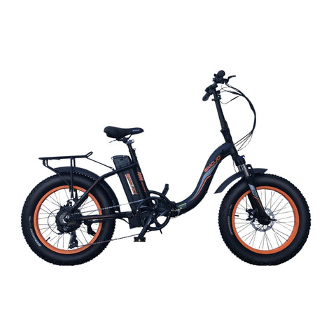 Image of Emojo Ram SS Foldable Electric Bike black side view