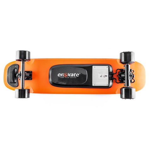 Image of Enskate Woboard Electric Skateboard Orange Deck