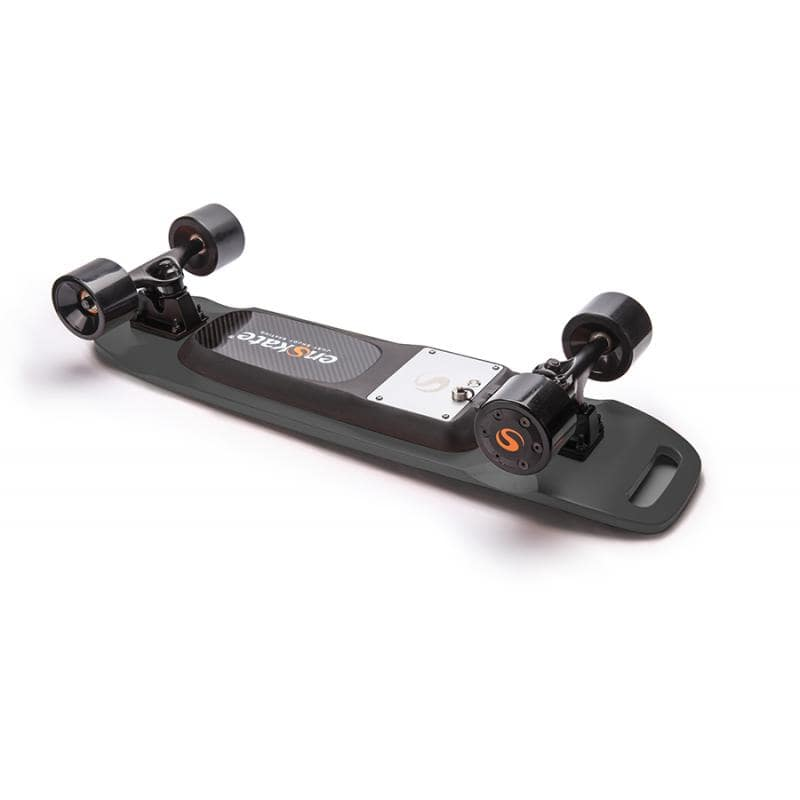 Enskate Woboard Mini Electric Skateboard Black Deck View