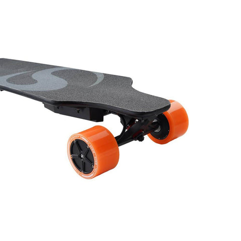 Image of Enskate R3 Electric Skateboard front right corner
