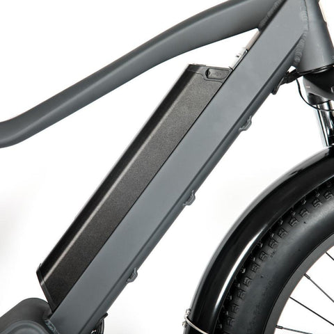 Eunorau 1000W FAT-HD Electric Bike grey center