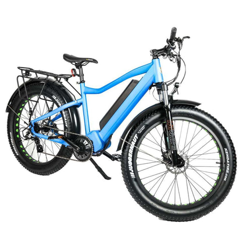Eunorau 1000W FAT-HD Electric Bike blue