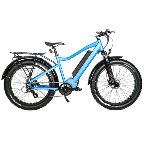 Eunorau 1000W FAT-HD Electric Bike blue side