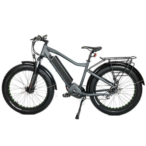Eunorau 1000W FAT-HD Electric Bike grey side