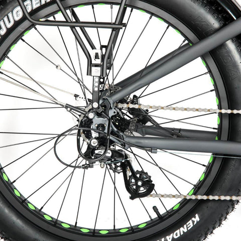 Eunorau 1000W FAT-HD Electric Bike wheels