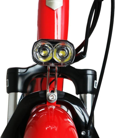 Image of Eunorau E-Torque Step Through Electric Bike lights