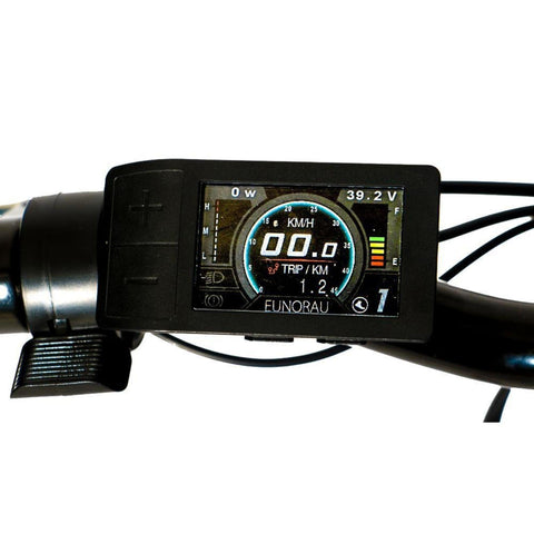 Image of Eunorau E-Torque Step Through Electric Bike monitor