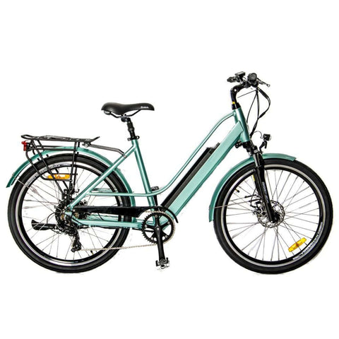 Image of Eunorau E-Torque Step Through Electric Bike green side
