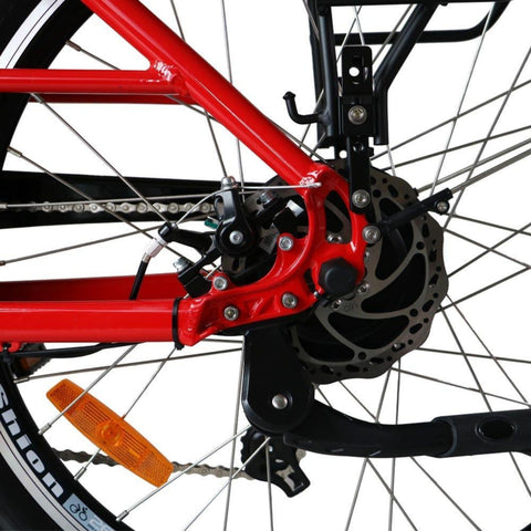 Image of Eunorau E-Torque Step Through Electric Bike spokes
