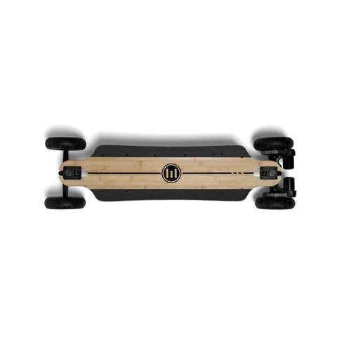 Image of Evolve Bamboo GTR Electric Skateboard birds eye
