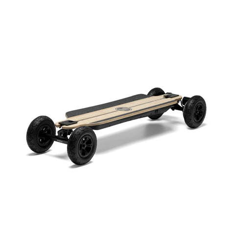 Evolve Bamboo GTR 2 in 1 Electric Skateboard front angle