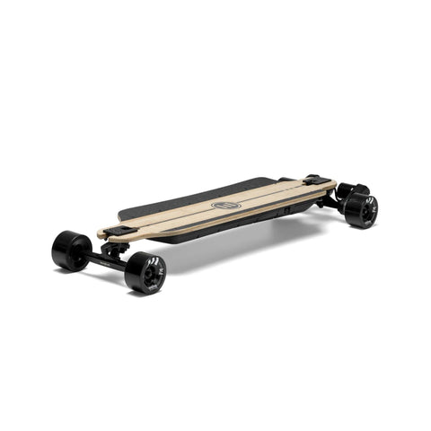 Evolve Bamboo GTR 2 in 1 Electric Skateboard streets front angle
