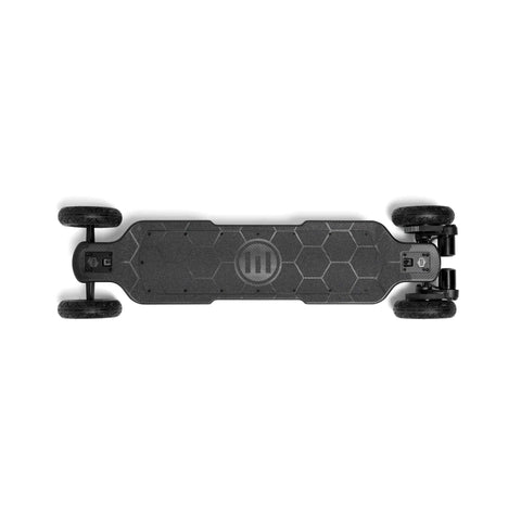 Image of Evolve Carbon GTR Street Electric Skateboard AT top view