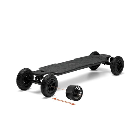Evolve Carbon GTR Street Electric Skateboard 2 in 1