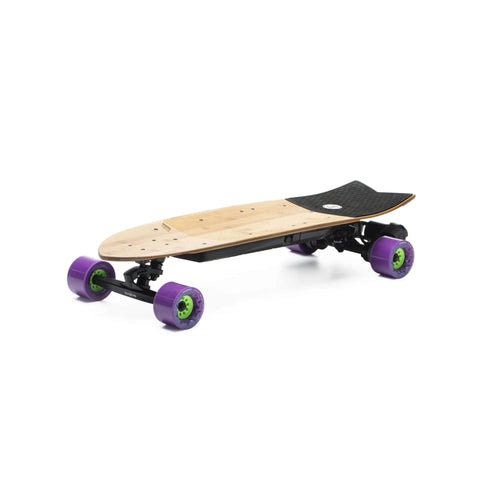 Evolve Stoke Electric Skateboard purple