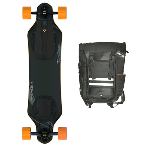 Image of exway flex hub and backpack