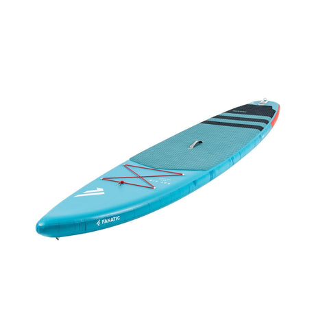 Fanatic Ray Air Inflatable SUP front angled view