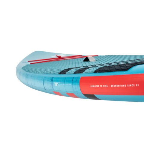 Fanatic Ray Air Inflatable SUP side rail
