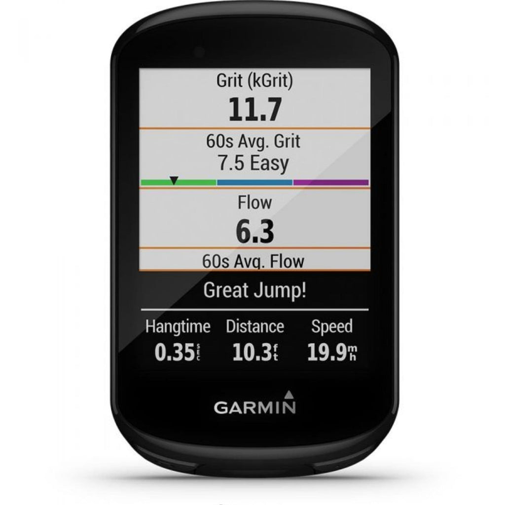 Garmin Edge 830 Bike Computer flow count