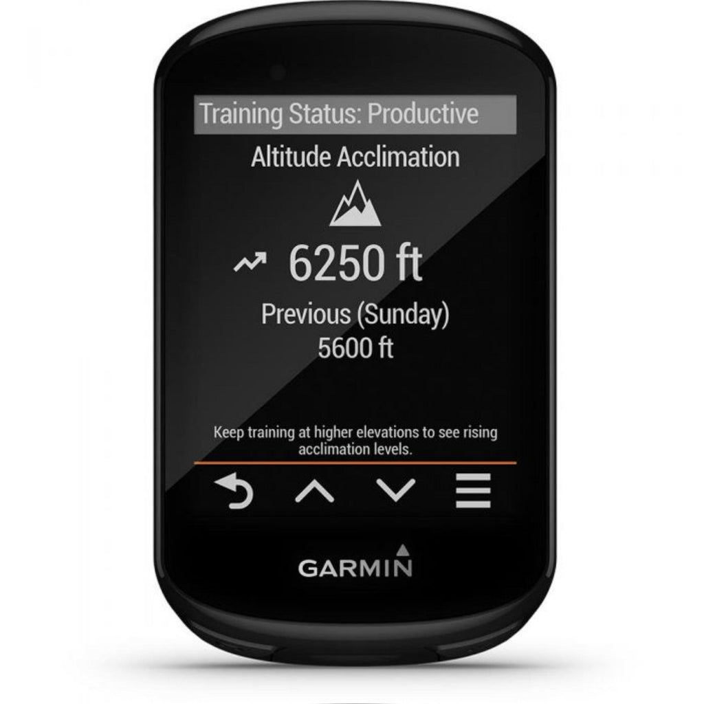 Garmin Edge 830 Bike Computer altitude