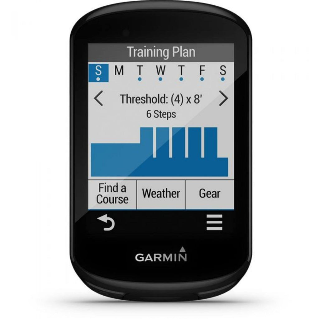 Garmin Edge 530 Bike Computer threshold