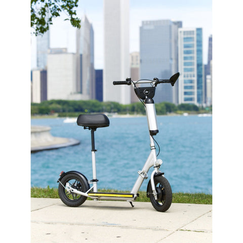 Image of Glion Balto Electric Scooter with view