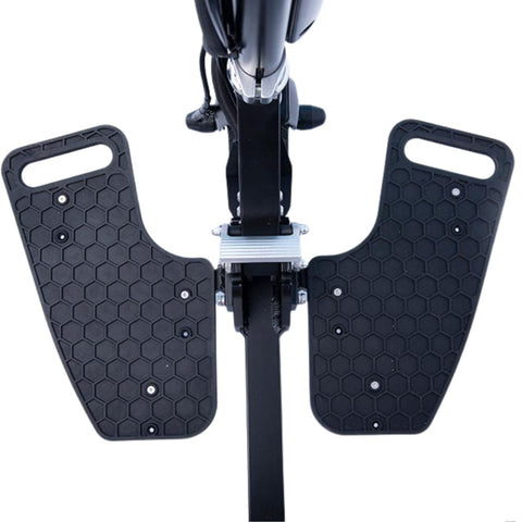 Image of Glion SnapnGo Electric Scooter platforms close up