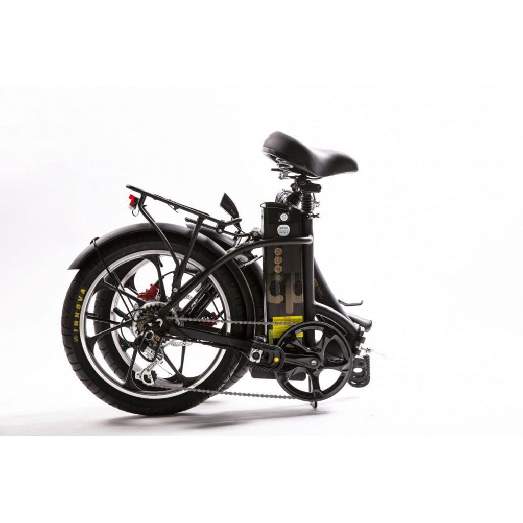GreenBike City Premium Electric Bike Folding View