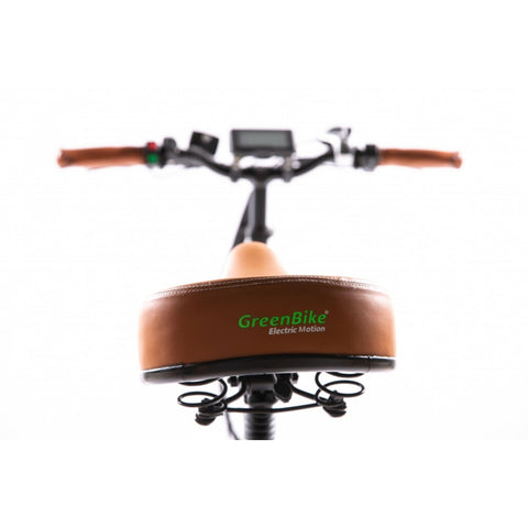 Image of GreenBike City Premium Electric Bike Seat View