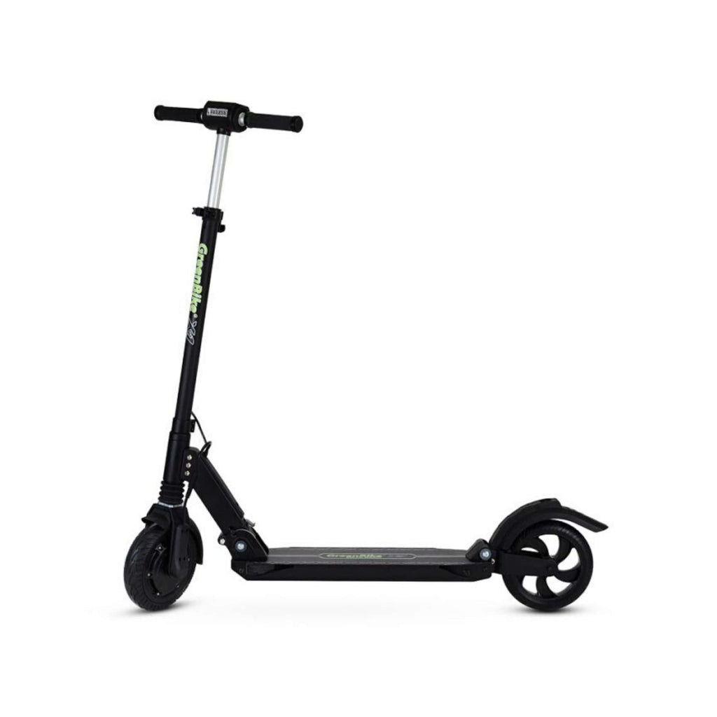 GreenBike X1 Electric Scooter Black Side View