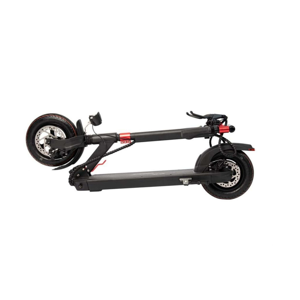 GreenBike X3 Electric Scooter Folding View