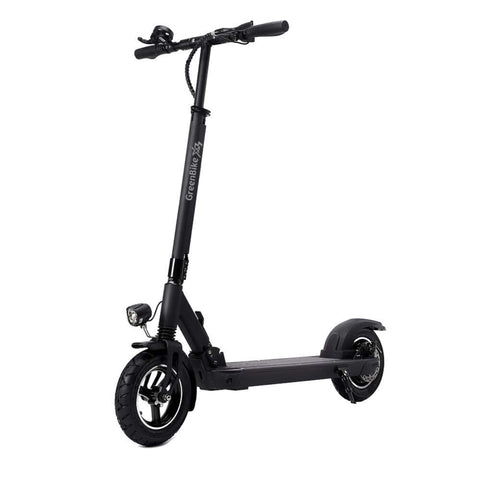 Image of GreenBike X3 Electric Scooter Side View