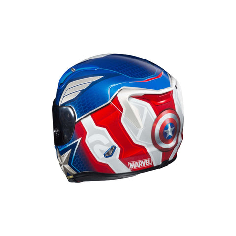 Image of HJC RPHA 11 Pro Captain America rear