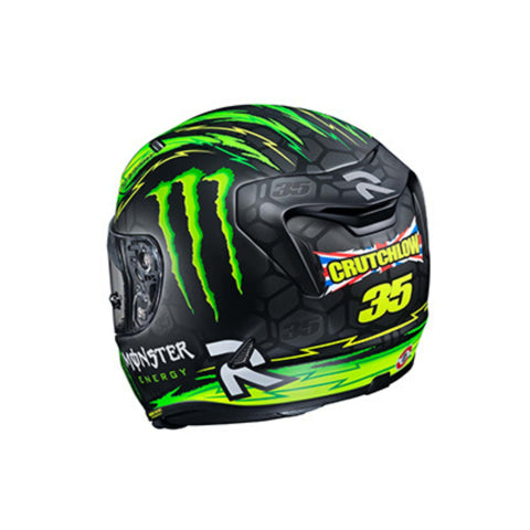 Image of HJC RPHA 11 Pro Crutchlow rear green