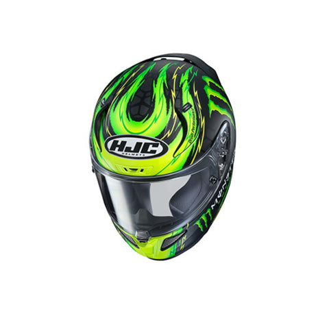 Image of HJC RPHA 11 Pro Crutchlow green top