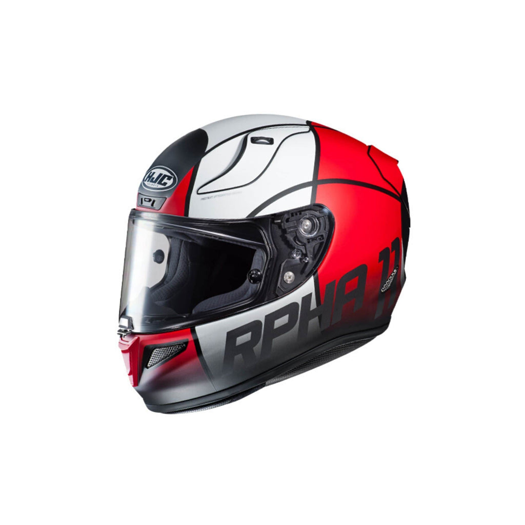 HJC RPHA 11 Pro Quintain red