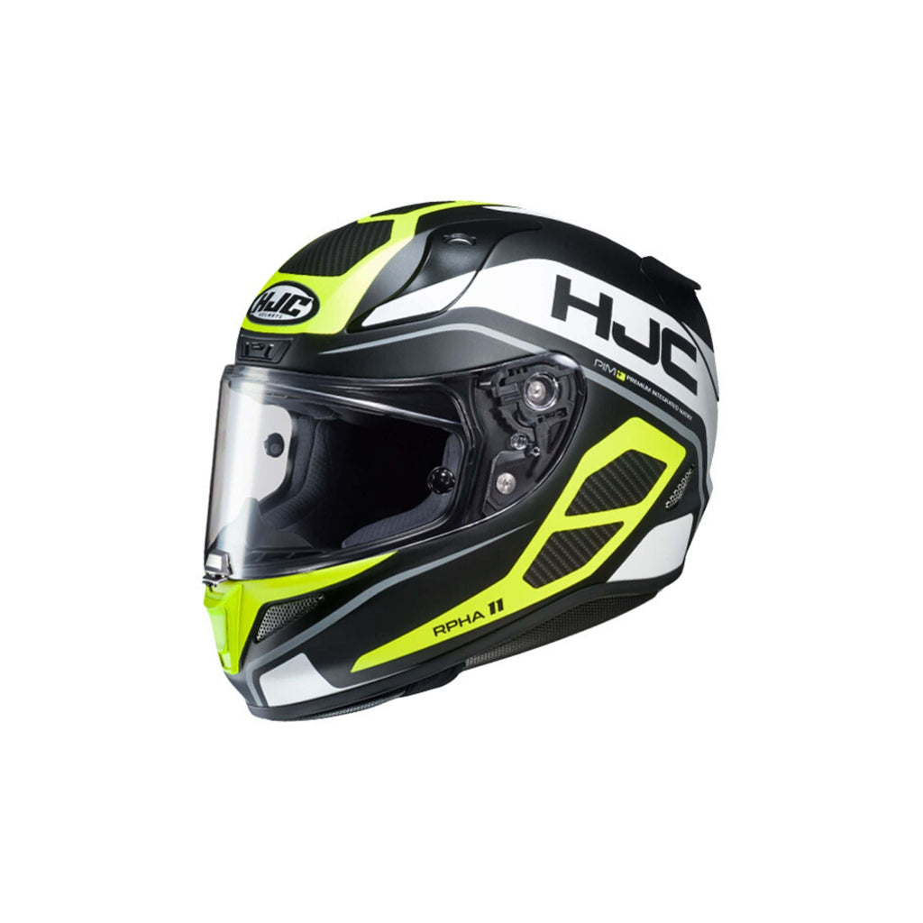 HJC RPHA 11 Pro Saravo yellow side
