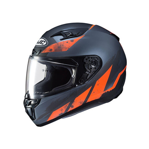 Image of HJC i10 Rank Motorbike Helmet orange