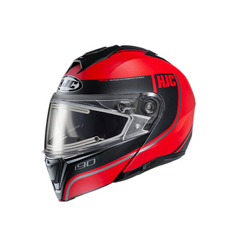 Image of HJC i90 Motorbike Helmet red