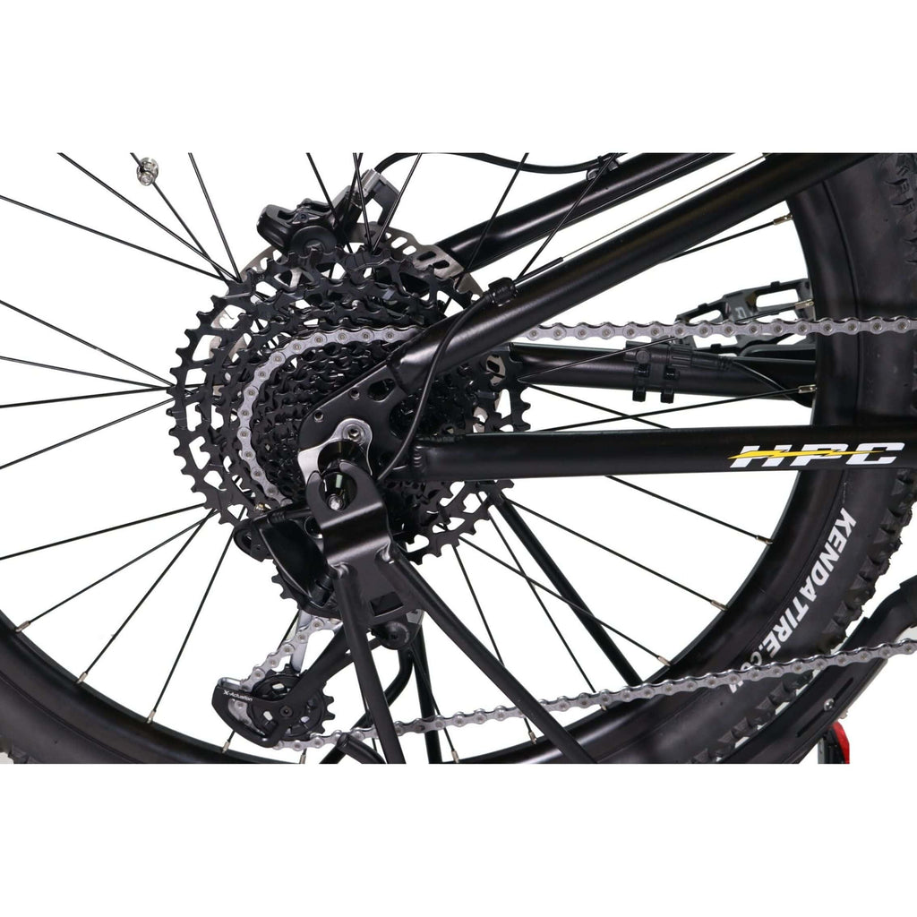 HPC Recon Foldable Electric Bike spokes
