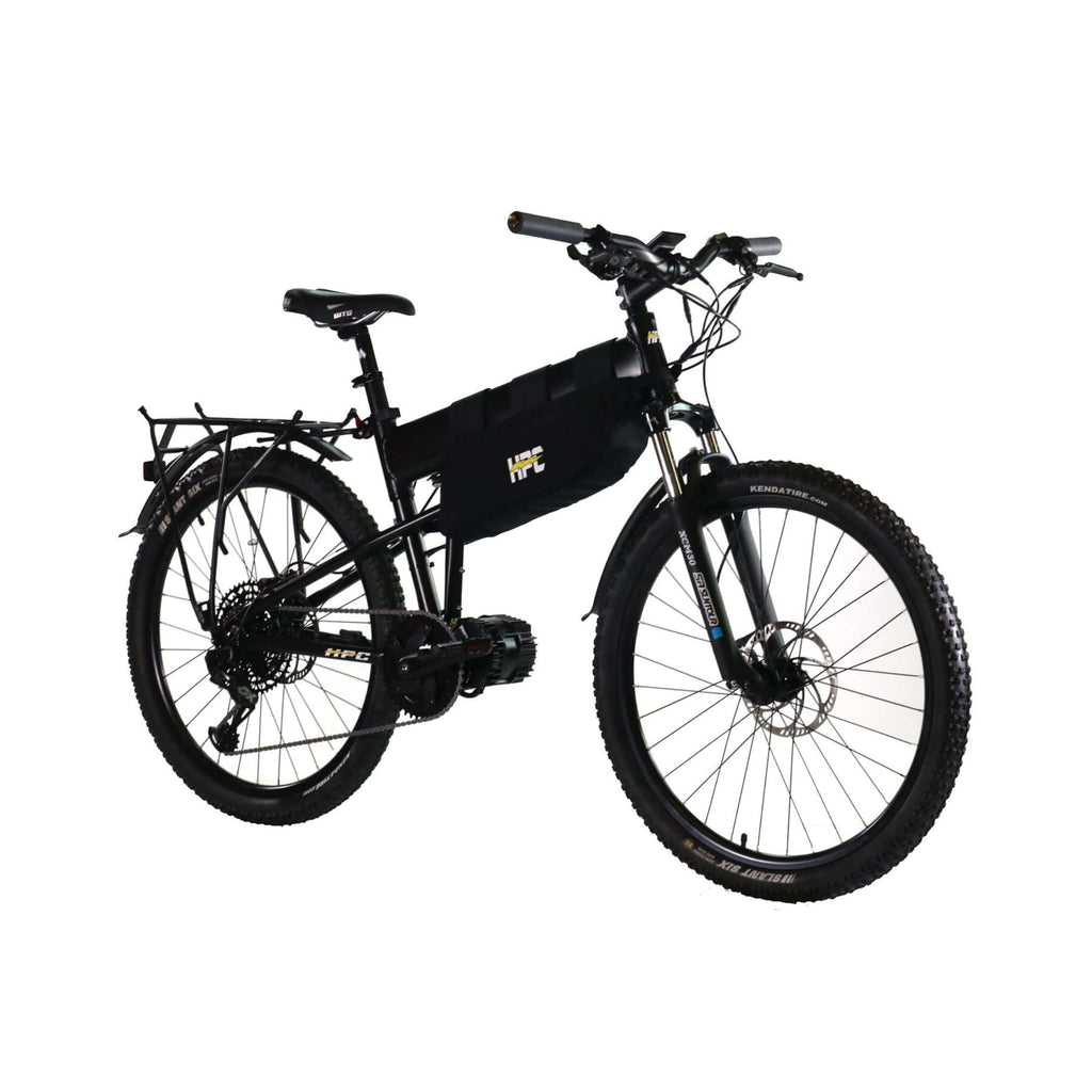 HPC Recon Foldable Electric Bike side angled
