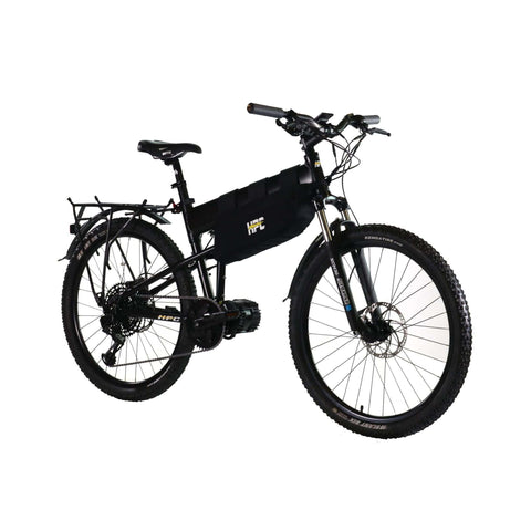 Image of HPC Recon Foldable Electric Bike side angled